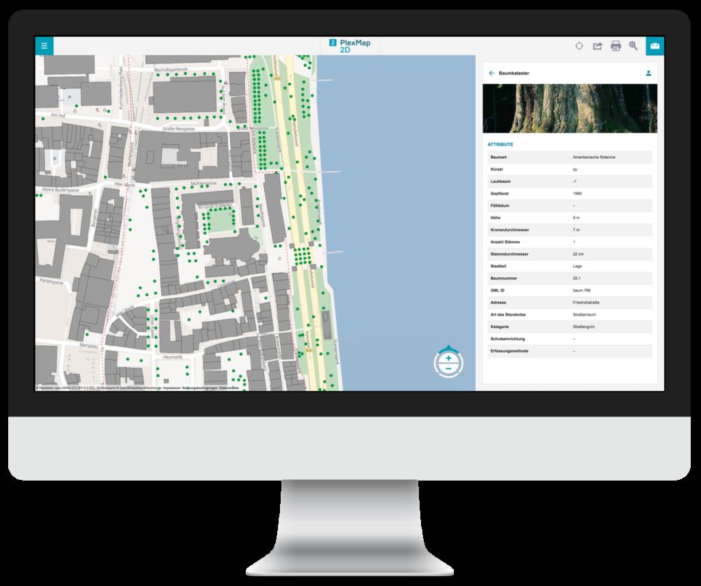 PlexMap 2D | Geoportale