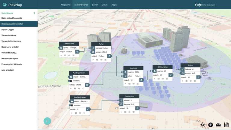 PlexMap Switchboard | Workflows